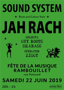 Affiche Fête de la Musique Rambouillet (2019)
