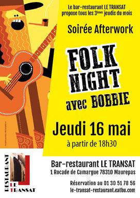 Affiche A3 soirée Afterwork Mercure Maurepas