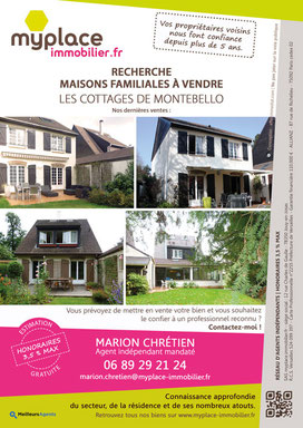 Flyer A4 pour MyPlace Immobilier (2018)