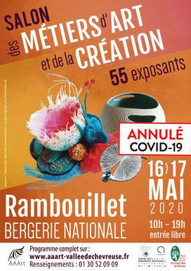 Salon des Métiers d'Art - Rambouillet (2020 - annulé)