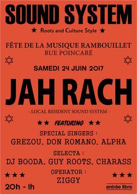 Affiche Fête de la Musique Rambouillet (2017)