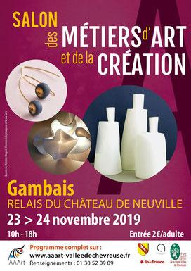 Salon des Métiers d'Art - Gambais 78 (2018)