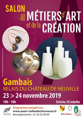 Salon des Métiers d'Art - Gambais (2019)