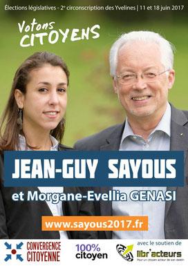 Affiche électorale (2017) - 594 x 841 mm