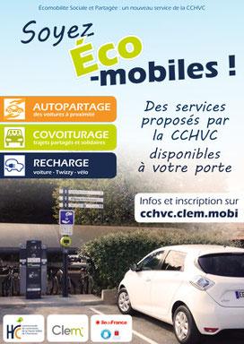 Affiche Ecomobilité CCHVC (2016)