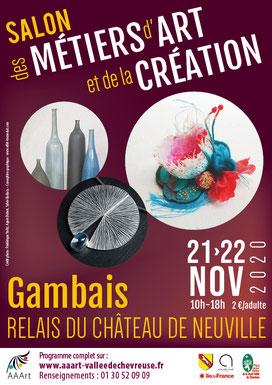 Salon des Métiers d'Art - Gambais 2020