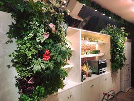 壁面グリーン 壁面緑化 広島 グリーン装飾