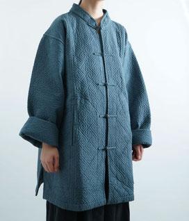 ヂェン先生の日常着 カシュクールコート