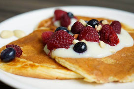 Cleane Buttermilch-Pancakes