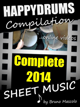 "Happydrums Compilation "" Complete 2014"" Grooves, Fills & Solos"