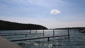 Liegeplätze für Yachten, Hausboote und Boote am Werbellinsee