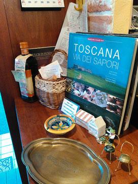 イタリア料理タカモリ店内
