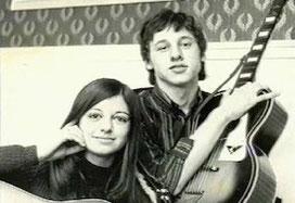 ca. 1966 - High School, MK mit Susan Hercombe
