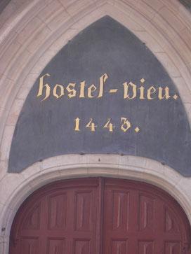 Eine der Hauptsehenswürdigkeiten in Beaune
