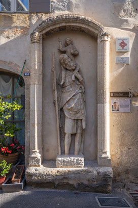 Bild: Boulbon im Bouches du Rhône hier Saint-Christophe