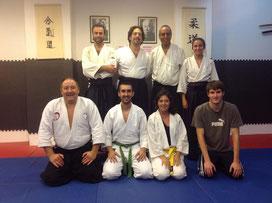 Photo de la visite en Espagne du Dojo à Huelva le 03 septembre 2013 http://www.atahuelva.com