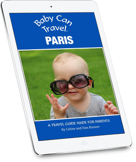 Travel with a baby to Paris.