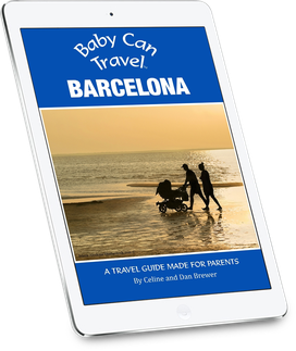Travel with a baby to Barcelona
