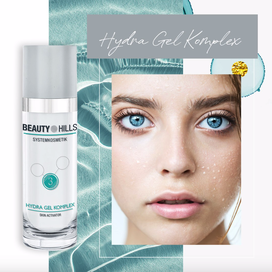 Beauty Hills, Kosmetik, Aloe Vera, Hydra Gel Komplex, Reife Haut, Kaviar, Gesicht, Produkt