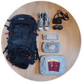 Weltreise Packliste