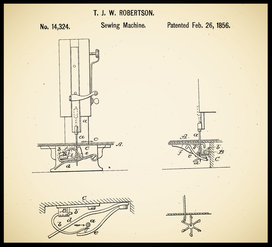 US Patent 14.324......................Feb. 26, 1856