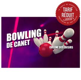 Réductions bowling Canet Loisirs 66