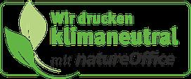 Klimaneutrales Drucken bei SATZDRUCK im Münsterland (NRW) - mit NatureOffice