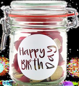 Geldgeschenk Gutscheinverpackung Geburtstag Happy Birthday
