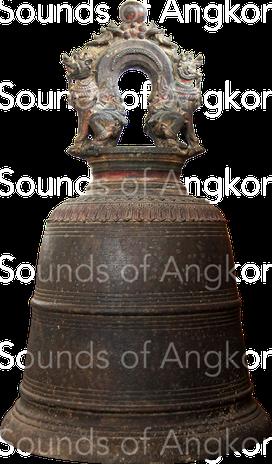 Contemporary bronze bell (chuong). Cambodia.
