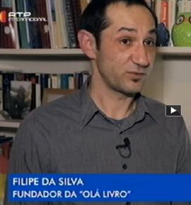 reportagem rtp internacional über Olá Livro