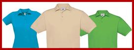 Textildruck Polo Shirts