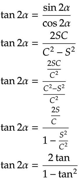 TANの二倍角の公式の覚え方