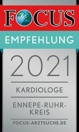 FOCUS Empfehlung Kardiologie 2021