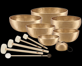 Meinl Sonic Energy Schweiz - klangschalen, chakra, set, singing bowls