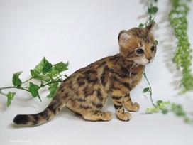 ベンガル猫 needlefelteng