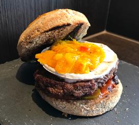 Camembert Mango Burger