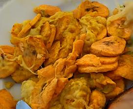 Kochbananen Auflauf aus dem Dutch Oven