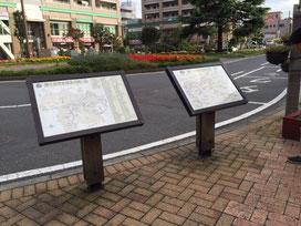鎌ケ谷市全域案内図・周辺案内図