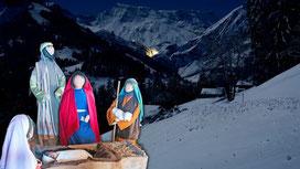 Wiehnachtswäg Adelboden BE (Bild zVg)