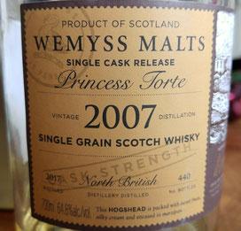 North British 2007 / 2017 Princess Torte Wemyss