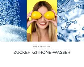 sugaring-zucker-zitrone-wasser