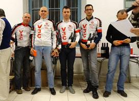 "Meilleurs coureurs Gardois en ""5"", ""3"", 1er groupe et ""4"""