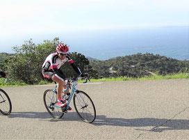 Au sommet du Canadel: plus que 110 km...!!!