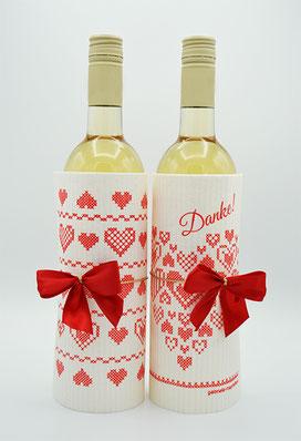 abwaschTUCH als Mitbringsel & Geschenk, Weinverpackung & Flaschenverpackung, Give-away