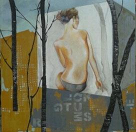 """""""Haus im Wald"""" Arbeit Franziska Kuos aus dem Jahr 2013"""