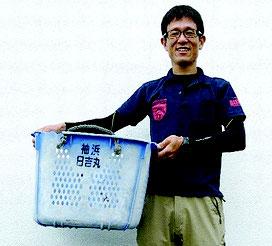 発見者の村松稔さん(提供写真)
