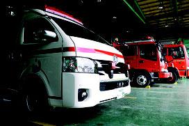 救急出動が過去最多となった市消防本部=7日、同本部