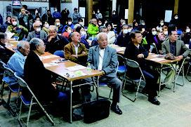 芸能後継者育成に関するフォーラムが開催された=26日夜、竹富島まちなみ館