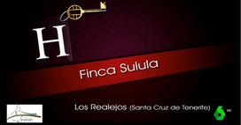 Finca Sulula en el programa Hoteles con Encanto de La Sexta en su paso por Tenerife, Canarias