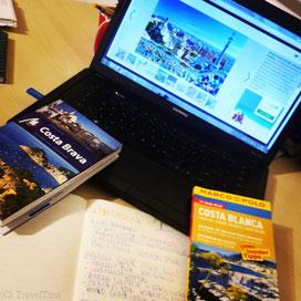 Vorbereitungen für meine Zeit in Spanien.